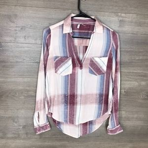 3/$25🛍️ Mudd Womens XXS Popover Shirt Top